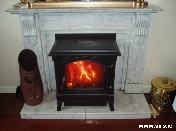 Typical fire installation by SIRS.IE